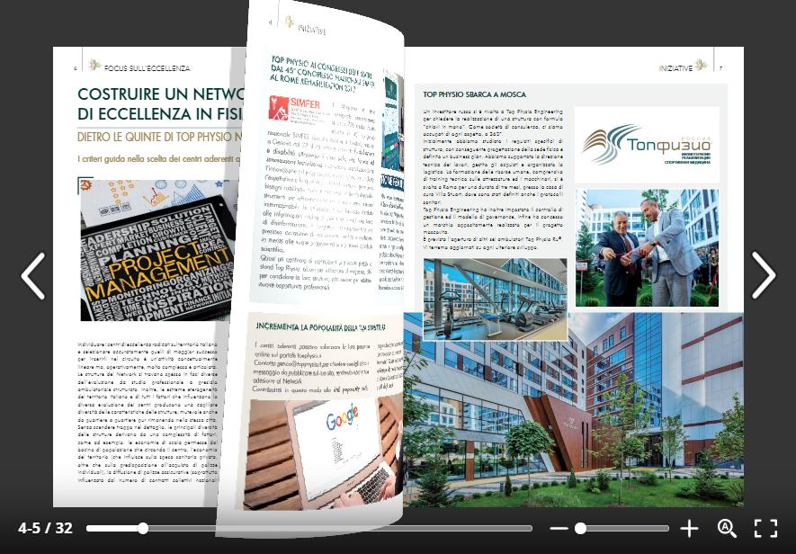 Magazine di Top Physio Network