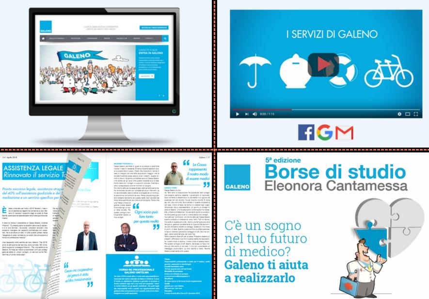 Broking & Consulting cura a 360° la comunicazione di Cassa Galeno