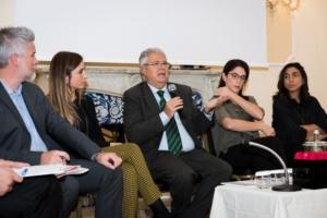 L'intervento del presidente dell'Oridne dei medici di Roma Antonio Magi