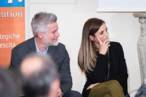 Nicola Piccinini e Silvia Cecchini