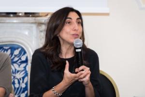 L'intervento di Anna Mirella Taranto, capo ufficio stampa dell'Istituto Superiore di Sanità